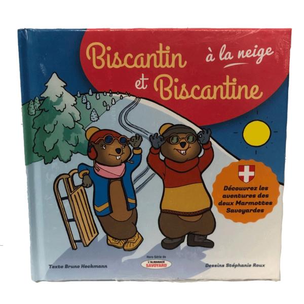Biscantin et Biscantine à la neige