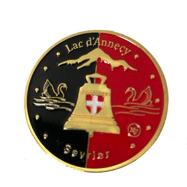 Médaille Rouge & Noir Recto