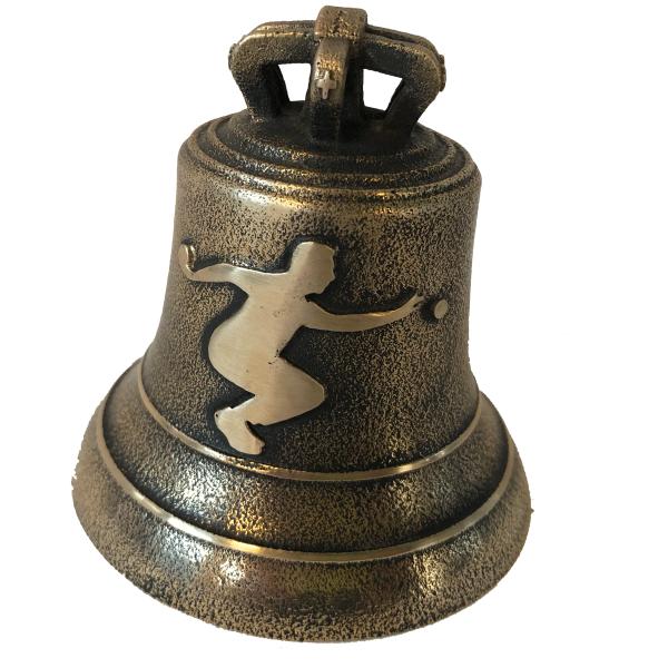 Cloche en Bronze avec bouliste