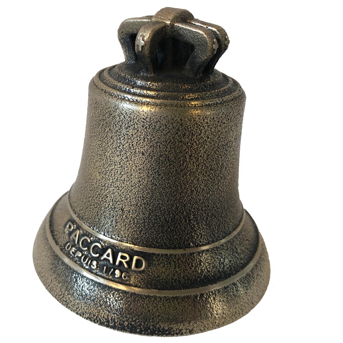 Cloche en Bronze avec signature PACCARD